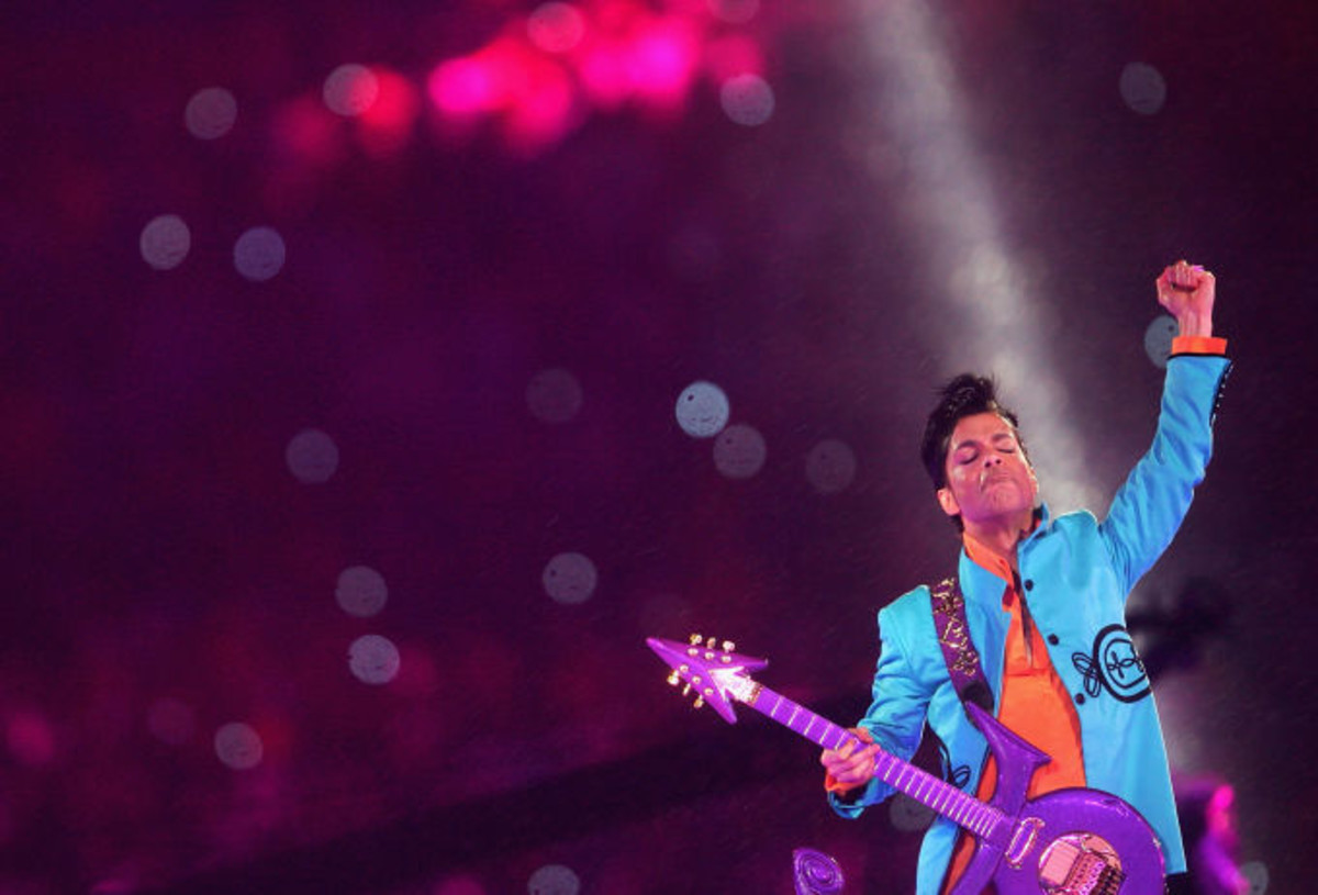 Prince Super Bowl 2007 Photo