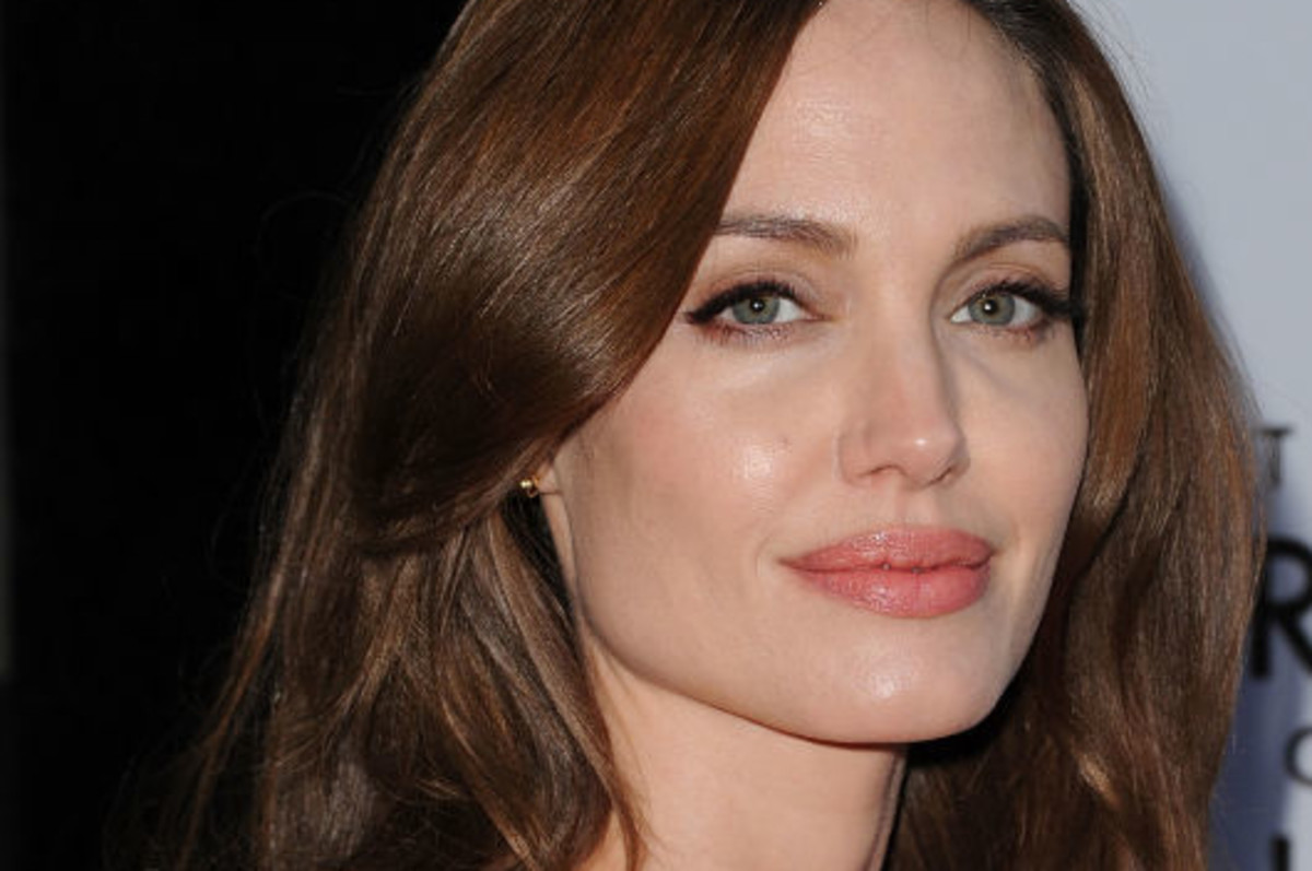 Angelina Jolie Photo Courtesy Getty Images