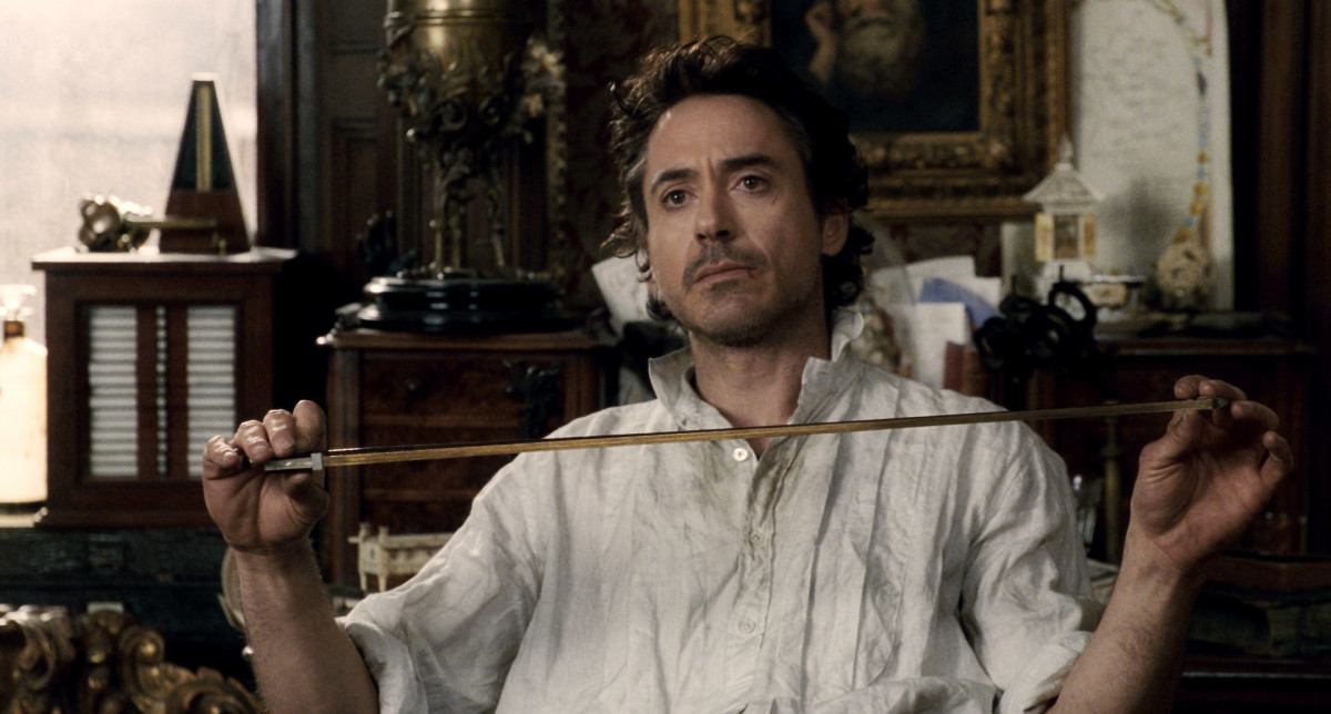Robert Downey Jr. in Sherlock Holmes Courtesy Warner Bros. Pictures