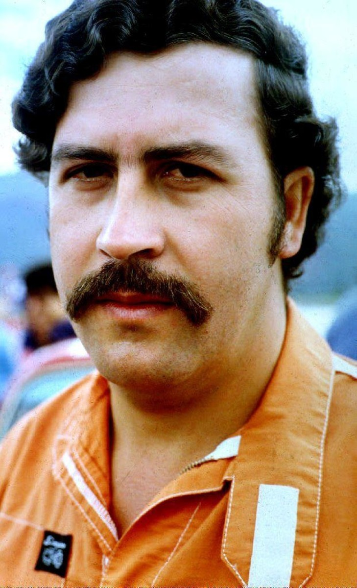 Pablo Escobar photo via Getty Images