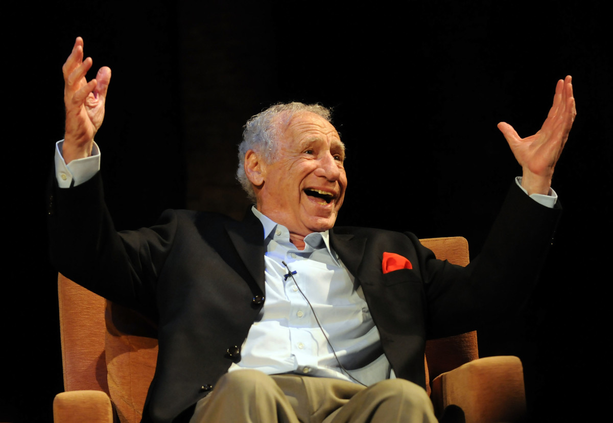 Mel Brooks in 2010 Photo by Mark Sullivan/WireImage