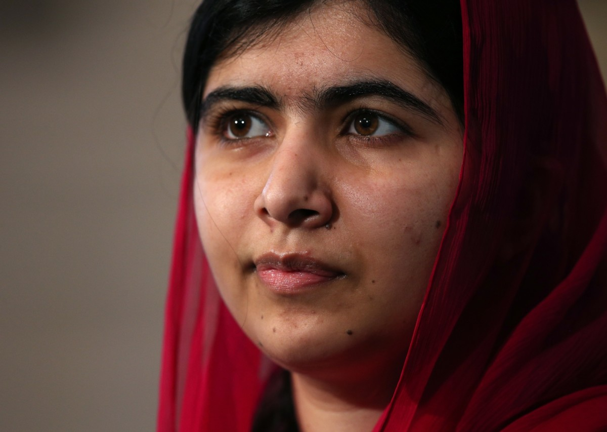 Malala Yousafzai photo via Getty Images