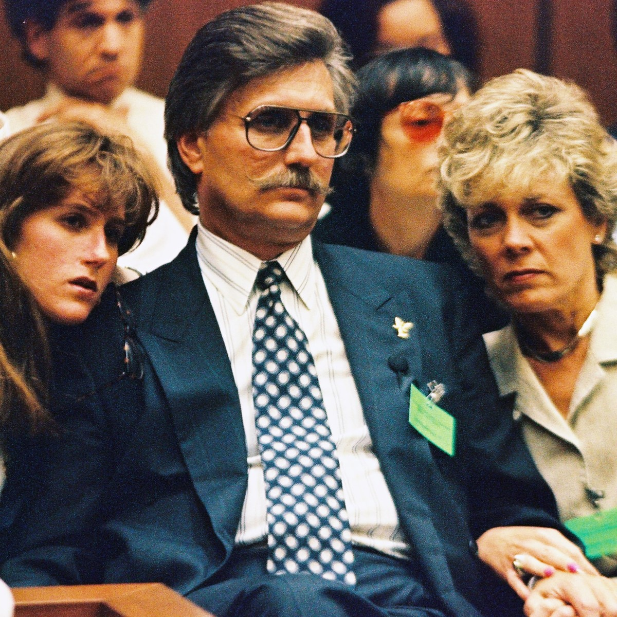 Fred Goldman and Family photo via Getty Images