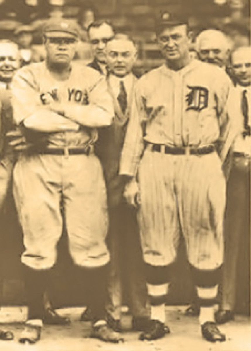 Babe Ruth Ty Cobb Photo