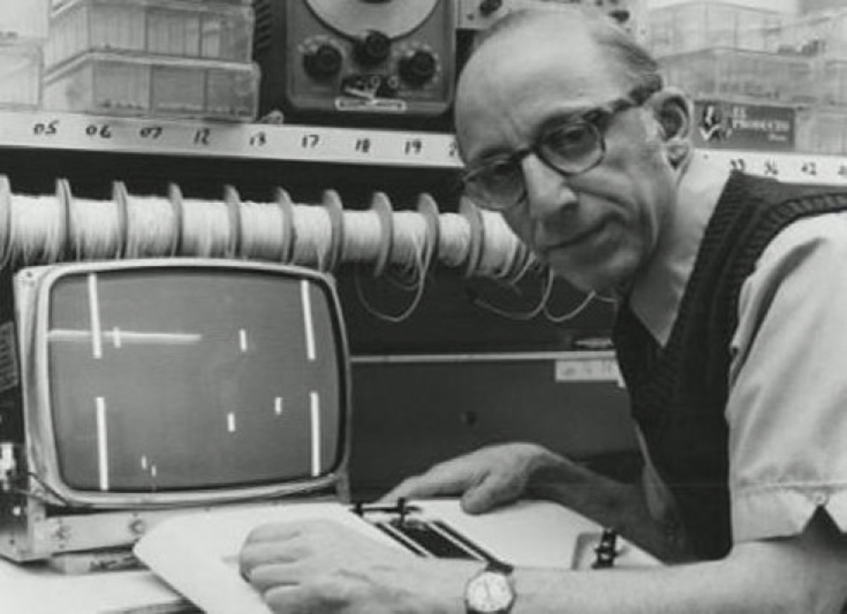 "Ralph Baer, the ""father of video games."""