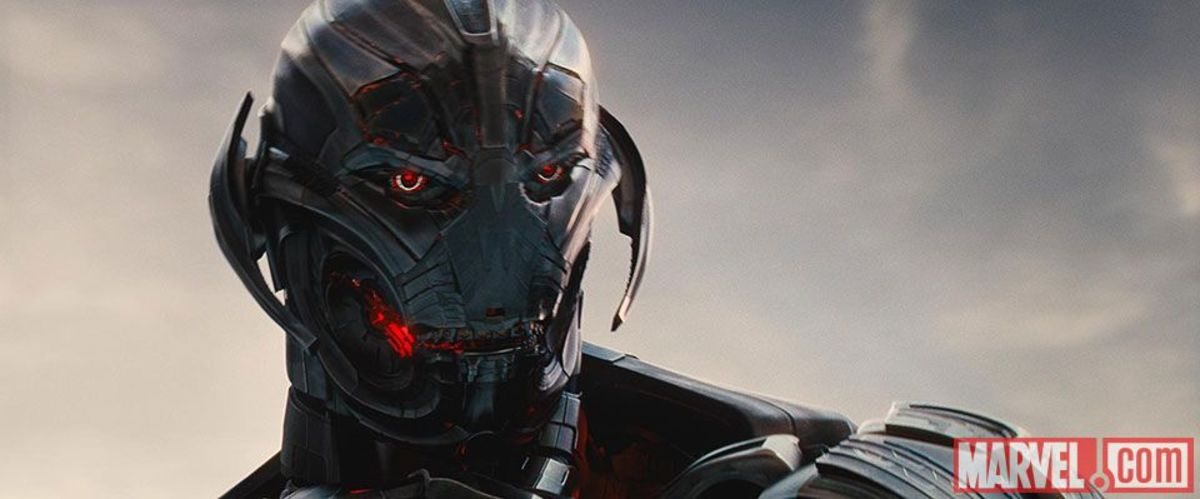 "Ultron, the ""eight-foot tall, homicidal robot"" played by James Spader. (Photo: Marvel.com)"
