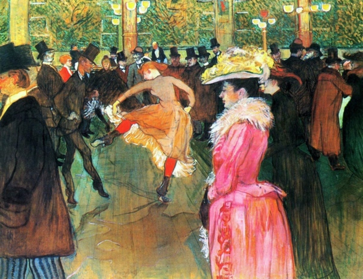 Toulouse-Lautrec-Moulin-Rouge