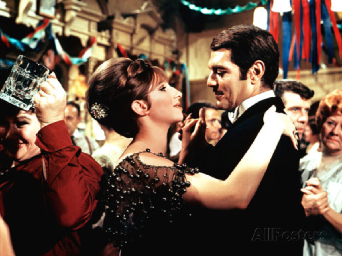 Omar Sharif Barbra Streisand Photo