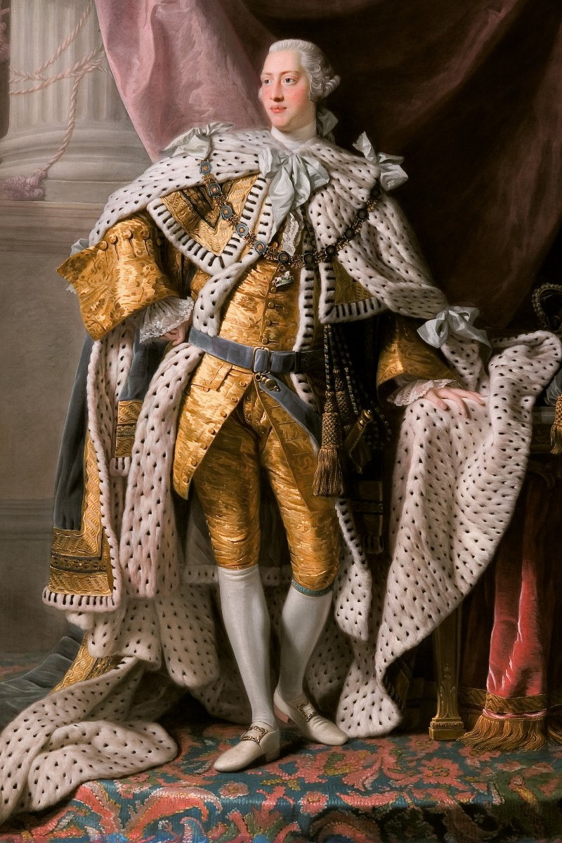 King George III full portrait