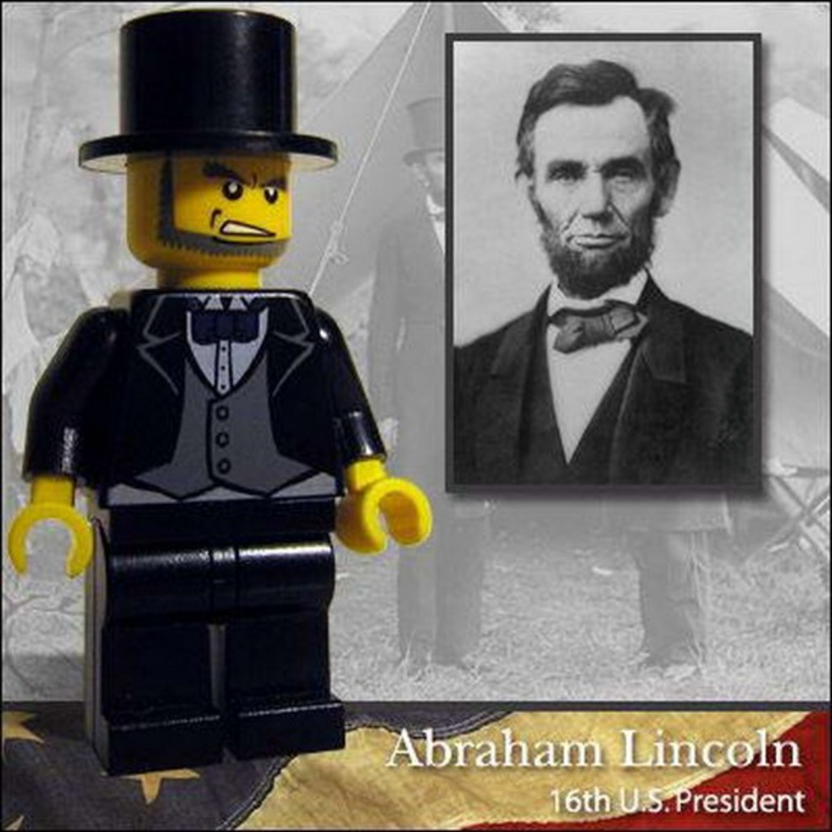 Abraham Lincoln Lego Photo