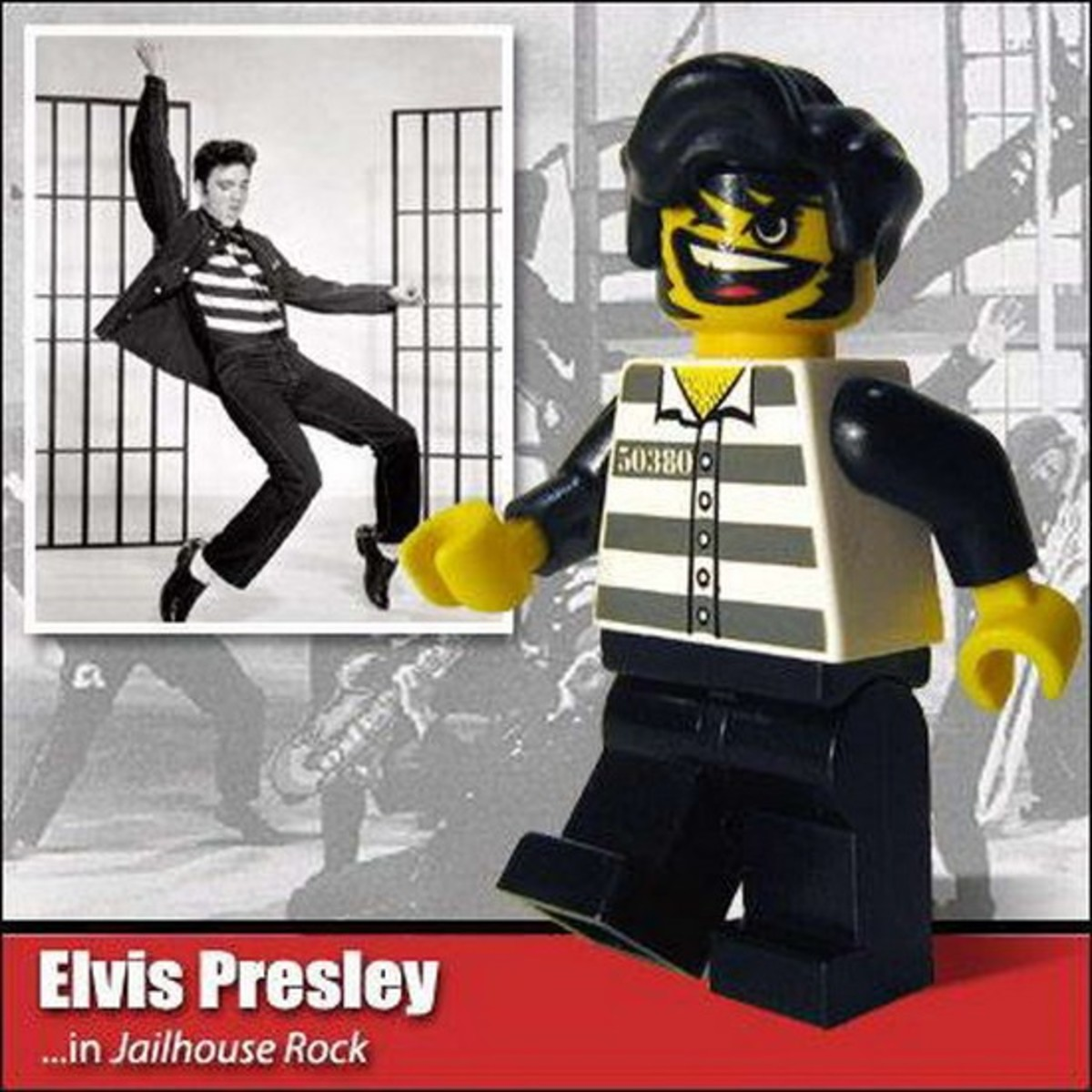 Elvis Presley Lego Photo