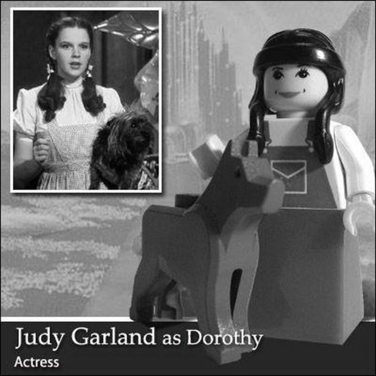 Judy Garland Lego Photo