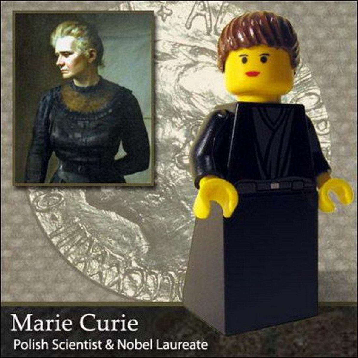 Marie Curie Lego Photo