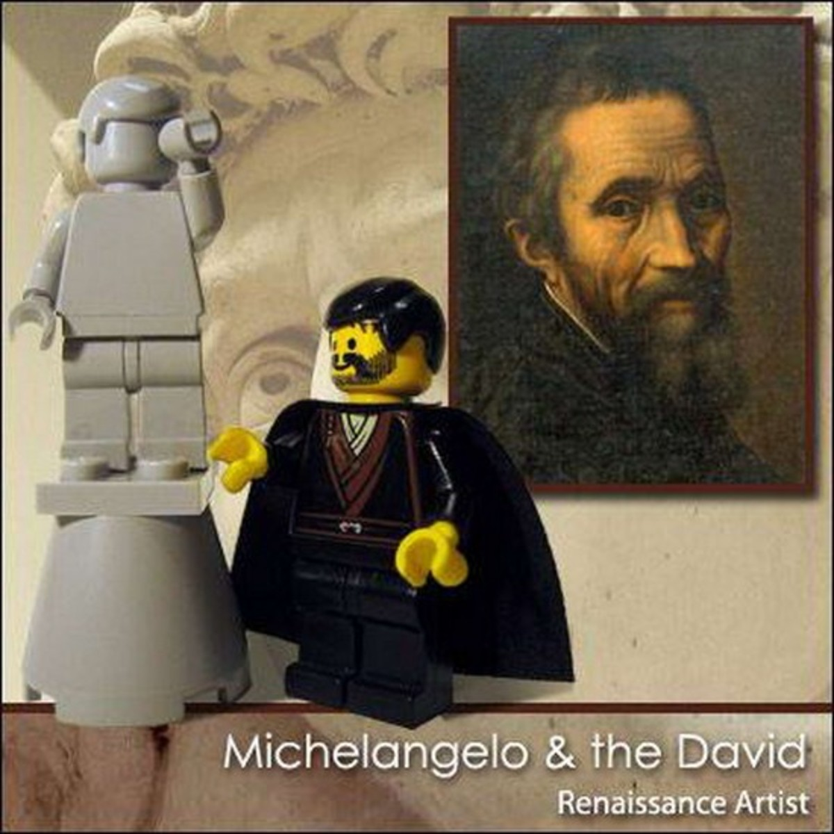 Michelangelo Lego Photo
