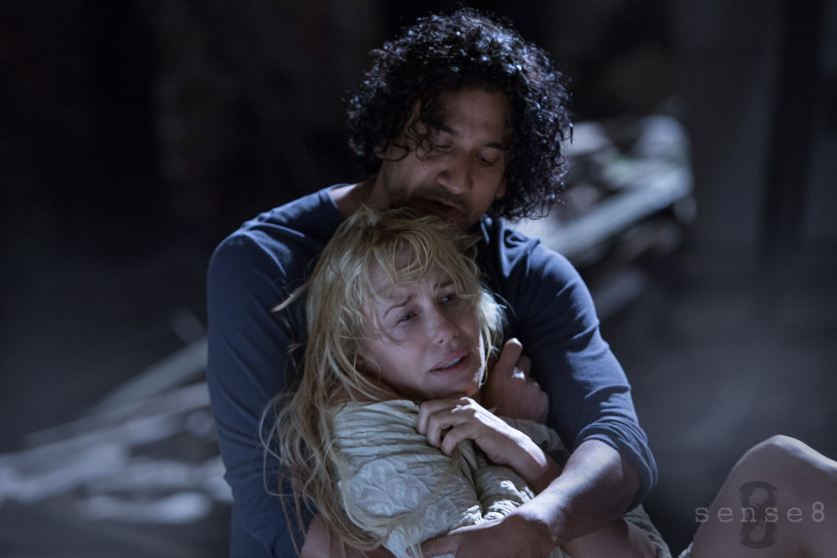 Sense8 Daryl Hannah Naveen Andrews Photo