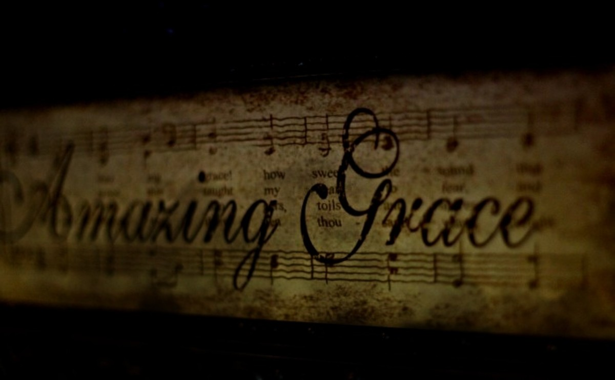 Amazing grace my chains