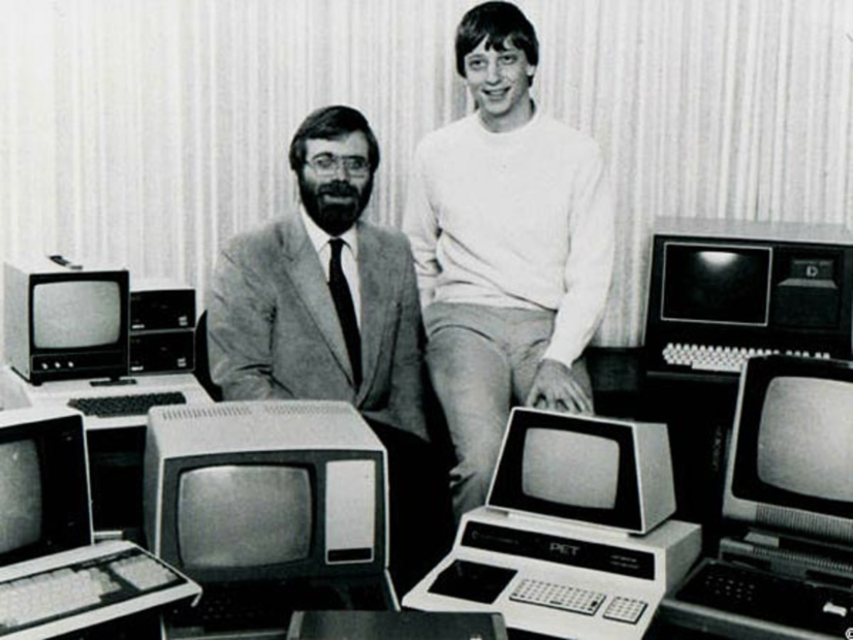 Paul Allen Bill Gates Photo