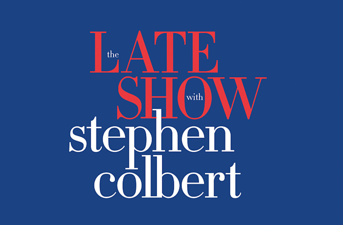 Late Show With Stephen Colbert Logo Photo