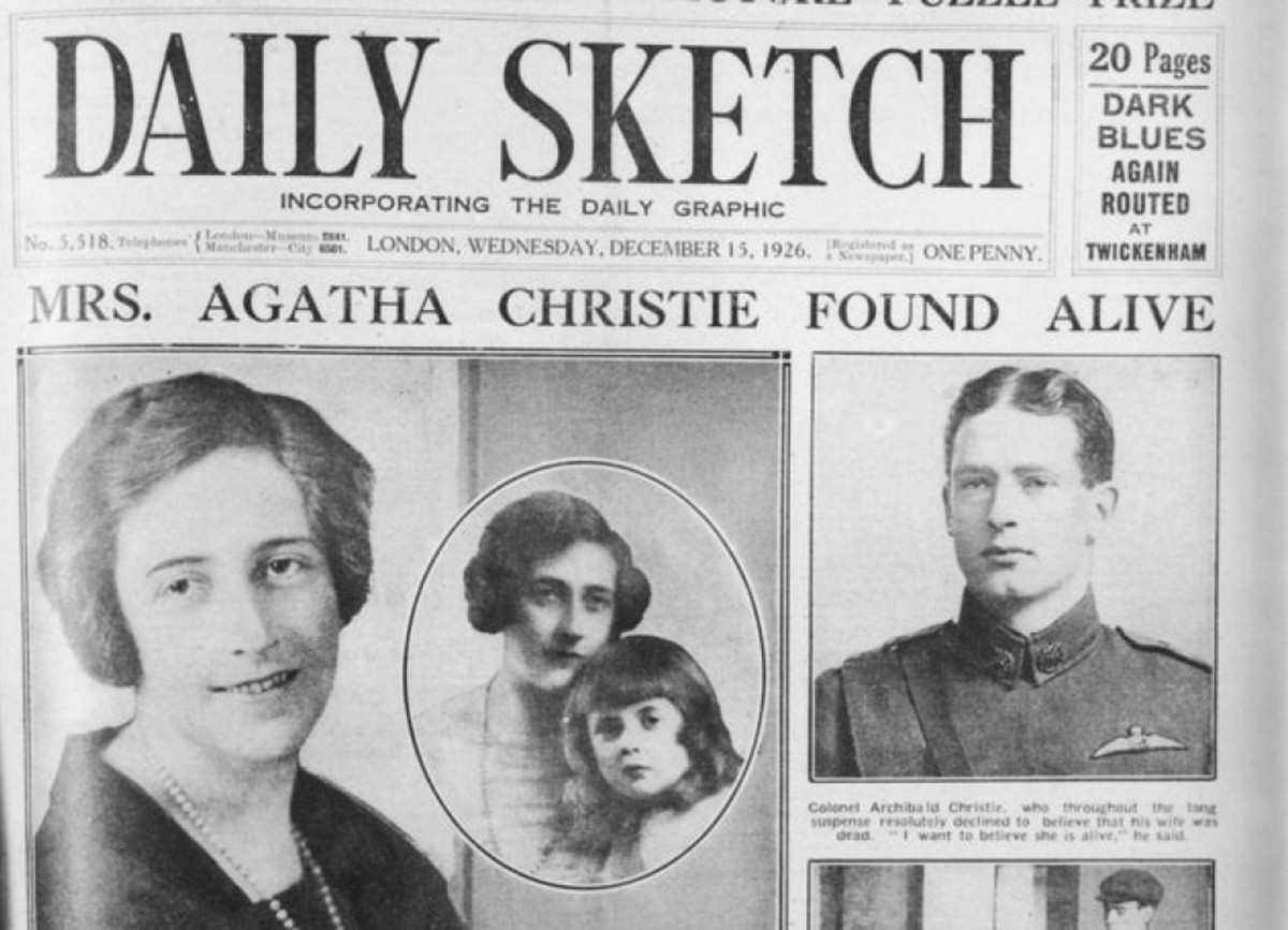 Image result for agatha christie is found