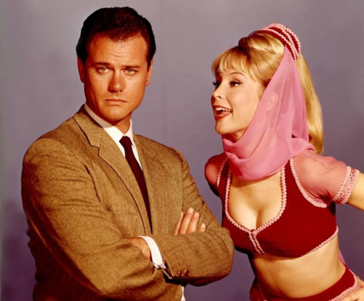 Larry Hagman Barbara Eden Photo