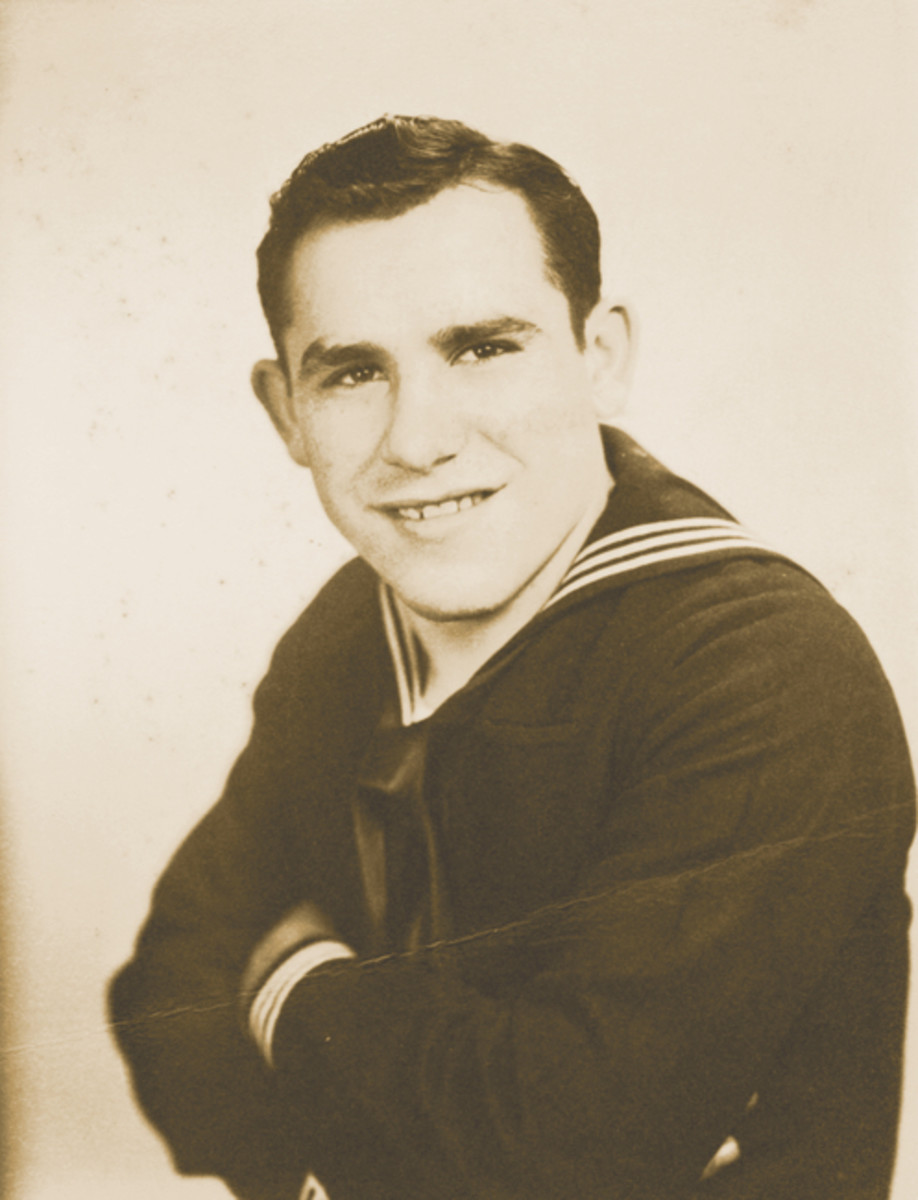 During World War II, Berra served in the Navy and was part of the D-Day invasion of Normandy.