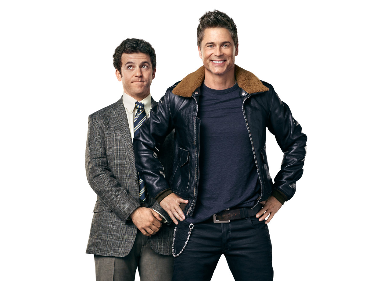 Fred Savage Rob Lowe The Grinder Photo