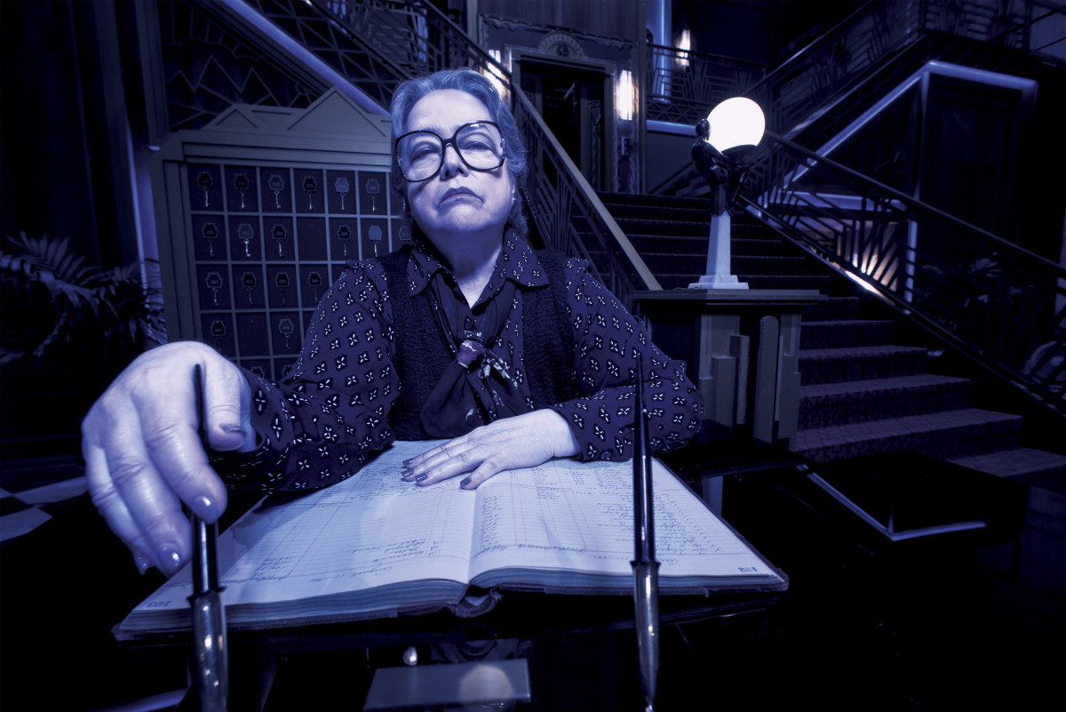 American Horror Story Hotel Kathy Bates Photo