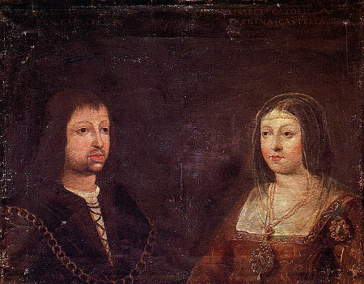 christopher columbus hero or villain biography com king ferdinand queen isabella photo