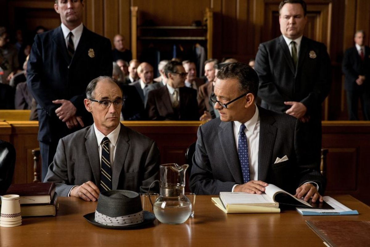 Mark Rylance Tom Hanks Photo