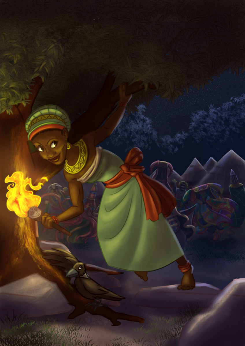 Moremi Ajasoro illustration by Jason Porath