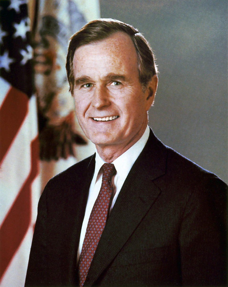 George H.W. Bush official vice presidential portrait