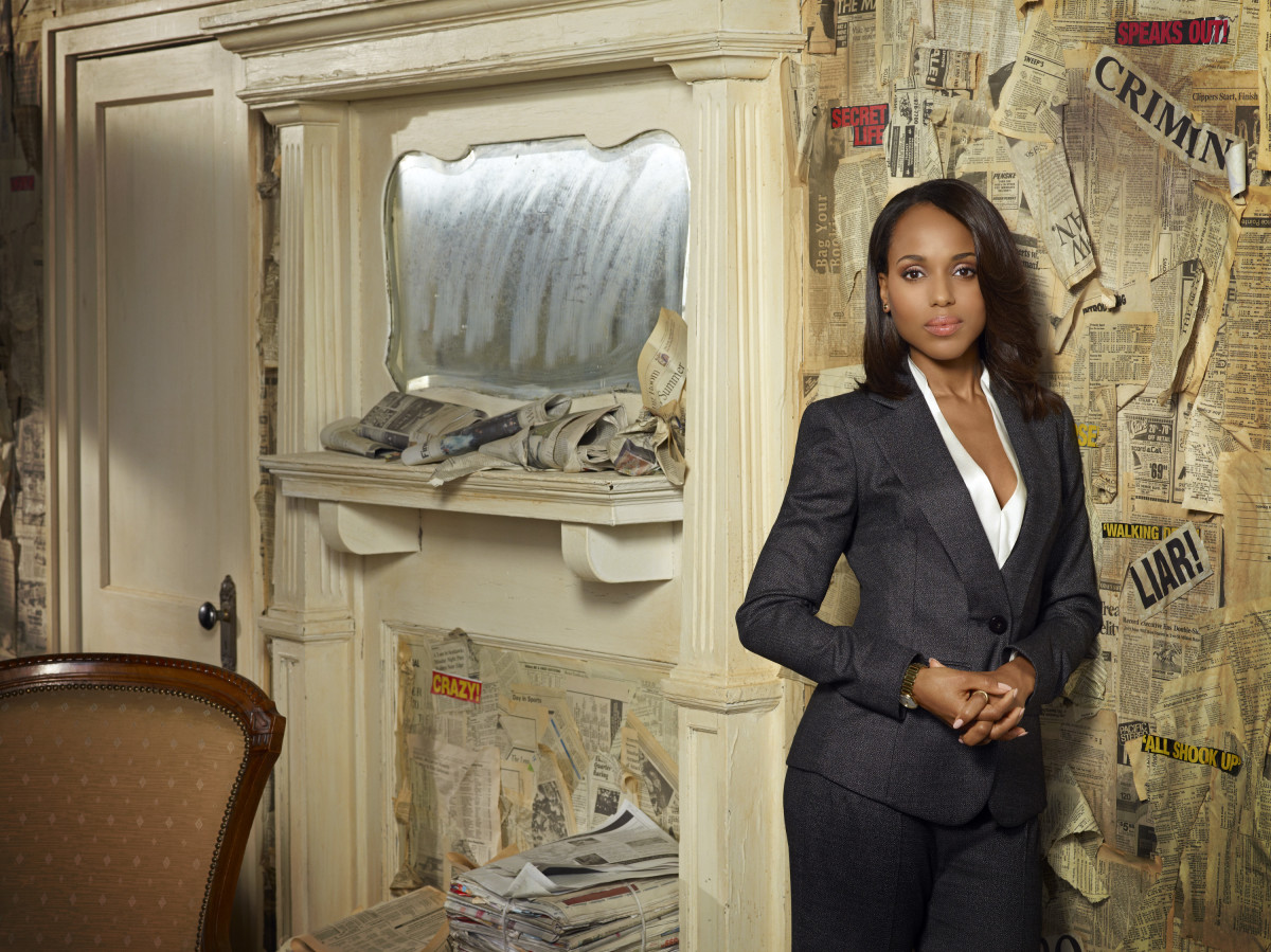 Kerry Washington Scandal Photo