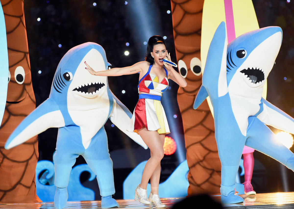 Katy Perry Super Bowl Halftime 2015 Photo