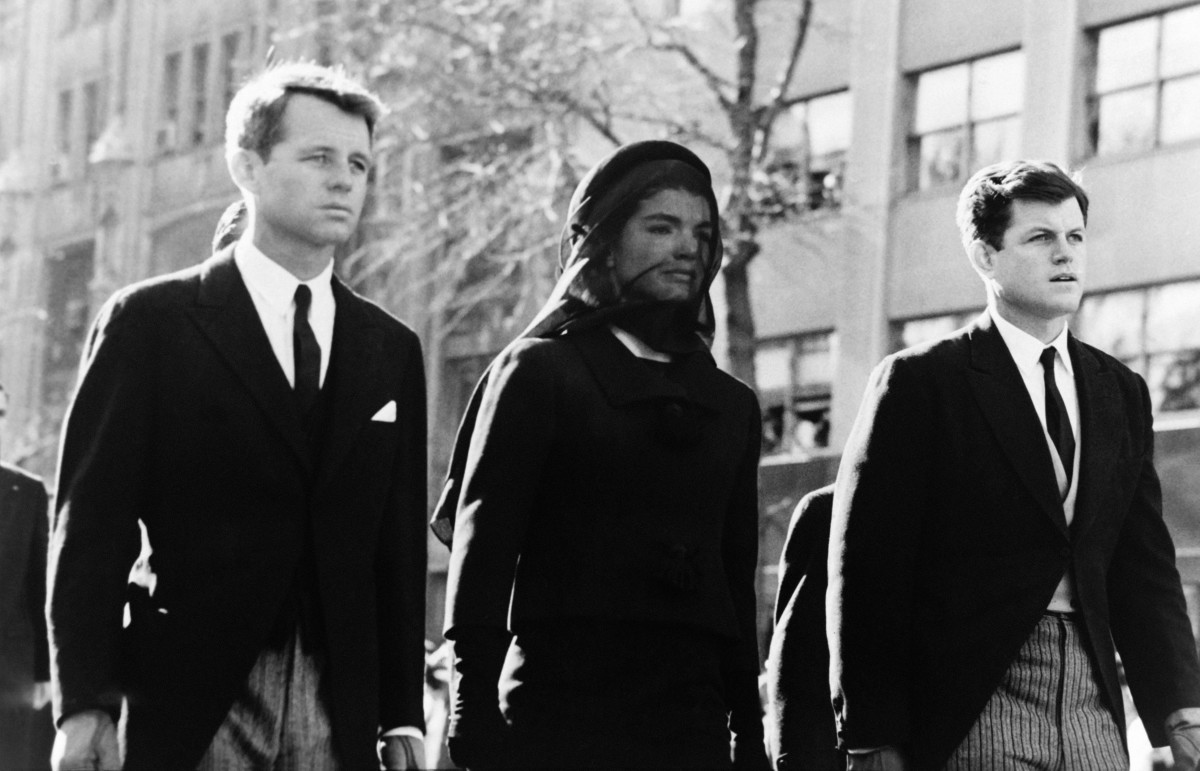 Jackie Kennedy JFK Funeral Photo
