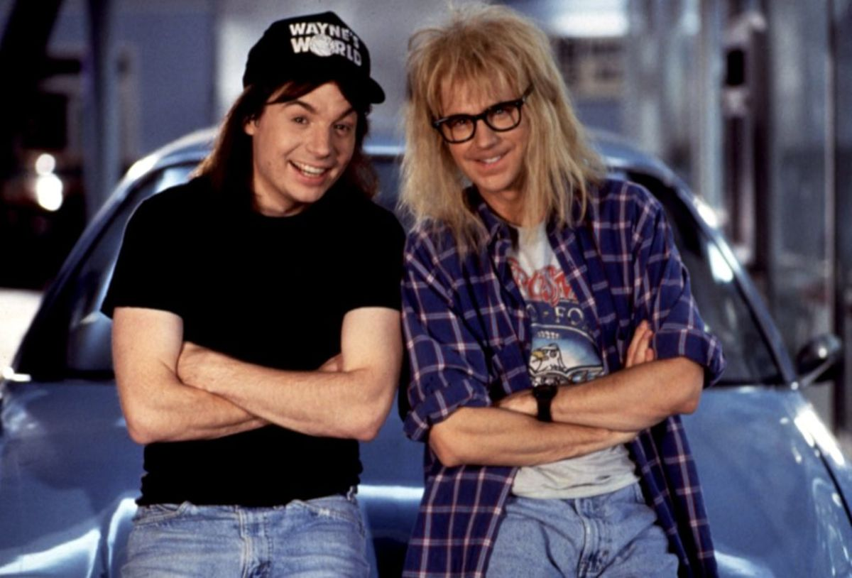 Image result for wayne and garth