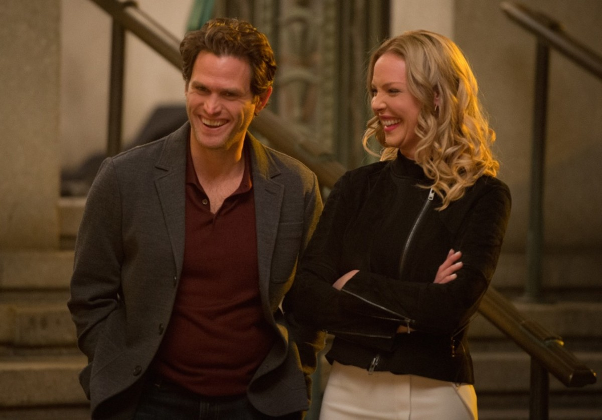 Steven Pasquale and Katherine Heigl