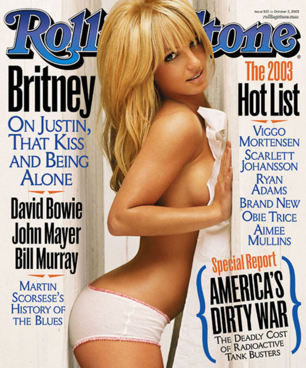 Britney Spears Rolling Stone Cover Photo