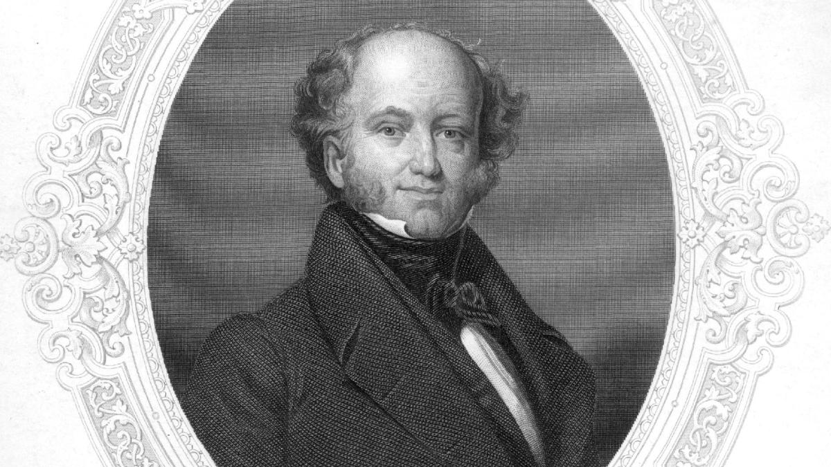 a biography of martin van buren Learn ten important things that you should know about martin van buren, the eighth president of the united states who served from 1837 to 1841.