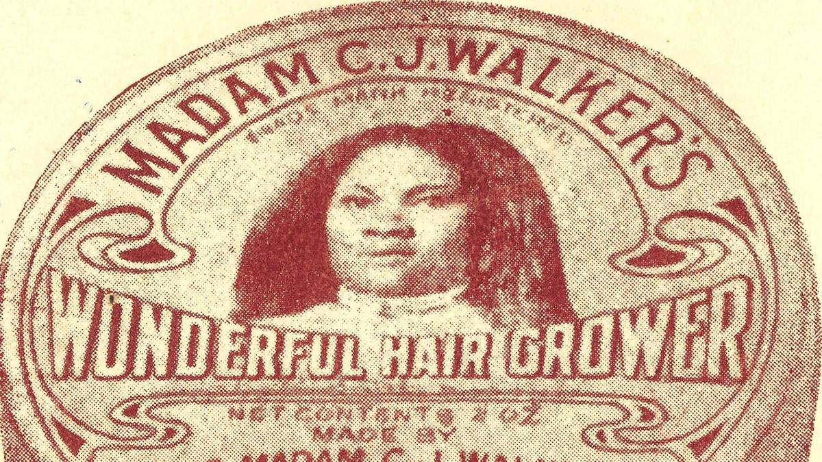 a biography of madam c j walker a business woman In 1888, a young, african-american woman named sarah breedlove left louisiana to join her brothers in st louis the future madam cj walker earned a living by doing laundry, then began selling.