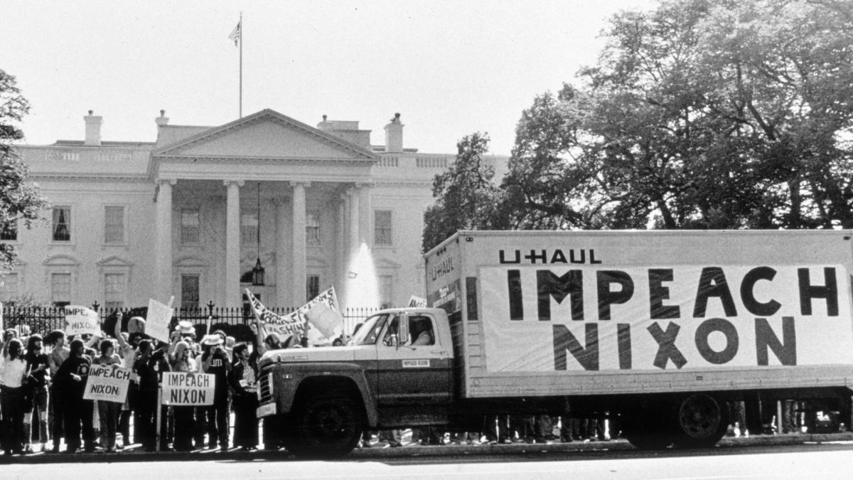 when was nixon impeached