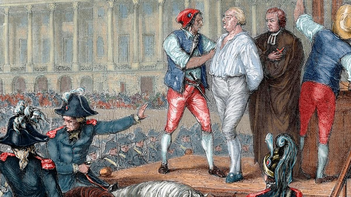 Image result for king louis beheaded