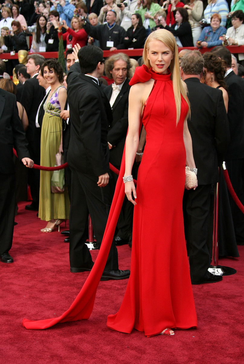 Nicole Kidman 2007 Oscars Dress Photo