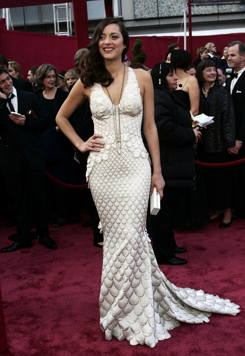 Marion Cotillard 2008 Oscars Dress Photo