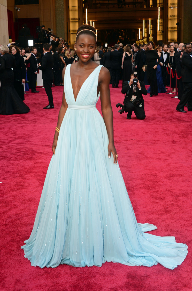 Lupita Nyong'o 2014 Oscars Dress Photo