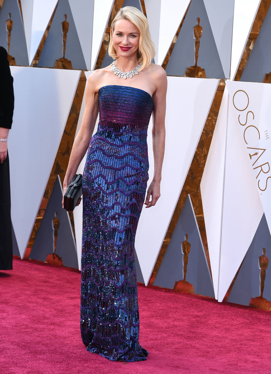 Naomi Watts 2016 Oscars Dress Photo