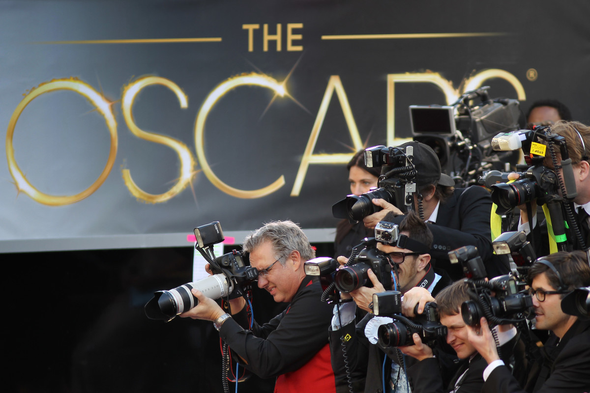 Oscars Cameramen Photo