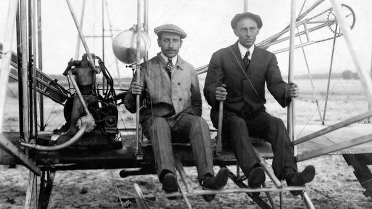 a biography of wright brothers The wright brothers, orville and wilbur, were two american brothers, inventors and aviation pioneers who invented and built the world's first successful airplane and made the first controlled, powered and sustained heavier-than-air human flight, on december 17, 1903.