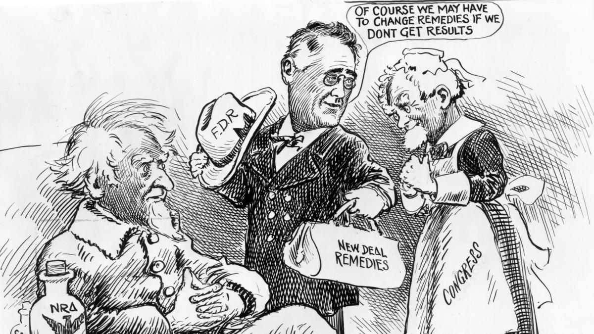the outside influences of franklin roosevelts new deal program Theodore roosevelt and woodrow wilson influenced franklin roosevelt's new deal ideas - 984102.