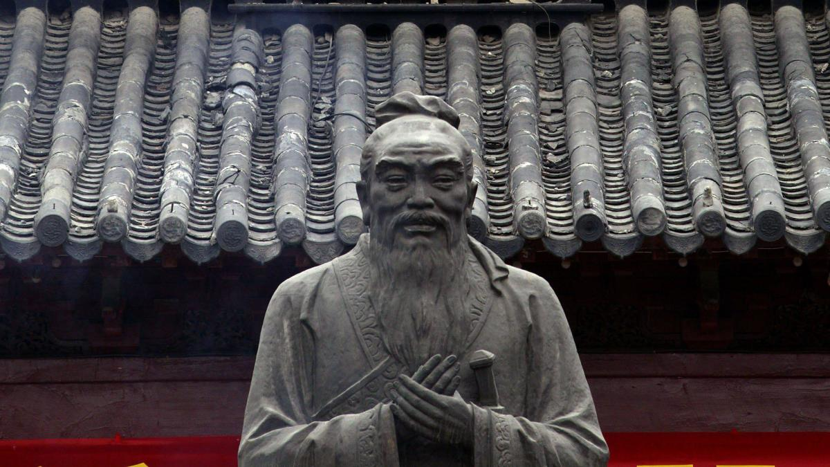 Image result for the death of confucius