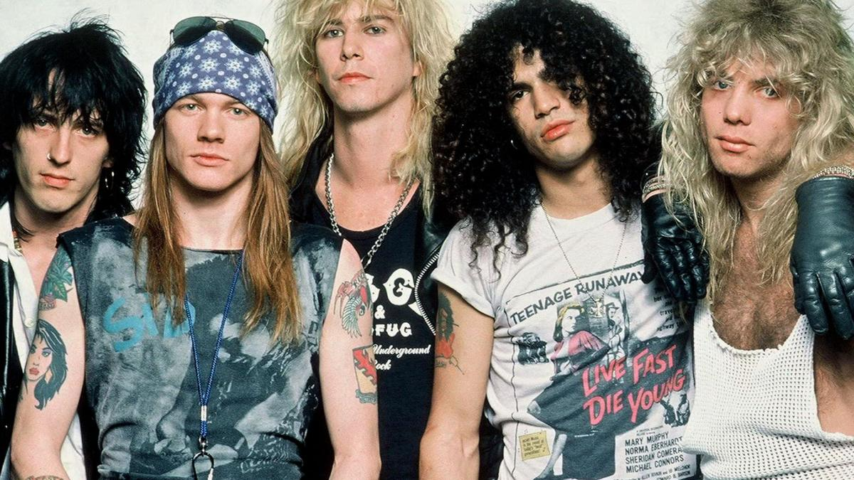 Guns n 39 roses full biography biography for Classic house music 1988